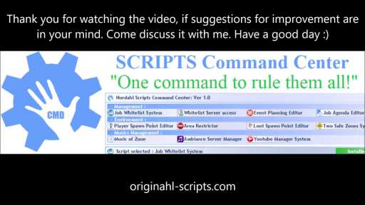 Video of Scripts Command Center