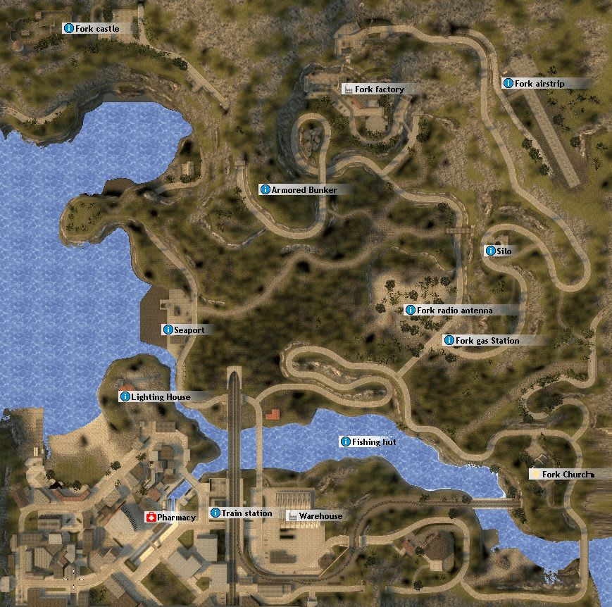 gm_fork mountain map of Gmod
